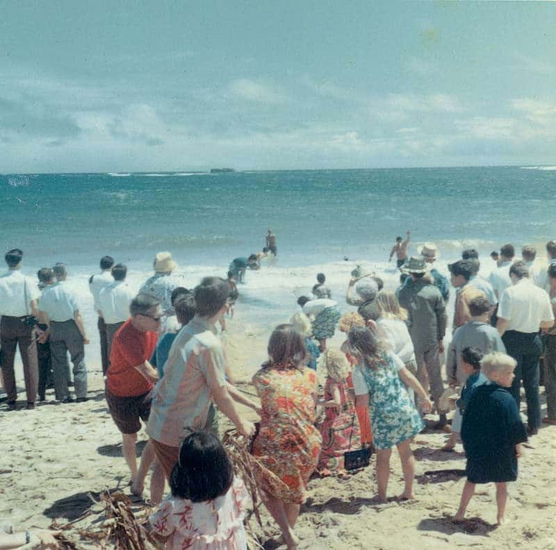 Visitors to La'ie have long loved the chance to feel a part of the Hukilau spirit